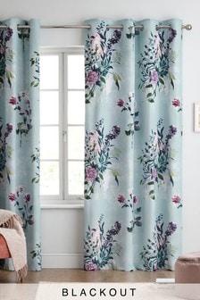 Vintage Bouquet Eyelet Curtains