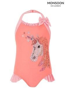 Monsoon Children Orange Claudia Unicorn Swimsuit