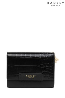 Radley London Black Arlington Court Medium Flapover Purse