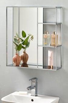 Shelving Wall Mirror