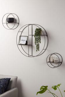 Set of 3 Round Shelves