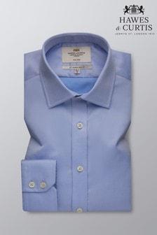 Hawes & Curtis Slim Fit Twill Non Iron Single Cuff Shirt