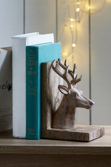 Brown Stag Bookend