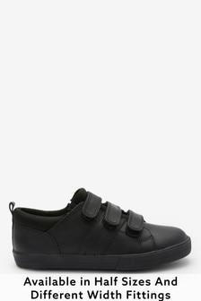 Triple Strap Leather Shoes (Older)