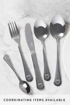 32 Piece Heart Cutlery Set