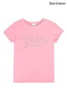 Juicy Couture Gothic Diamanté T-Shirt