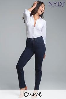 NYDJ Blue Curves 360 Shape Slim Straight Jeans