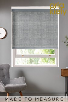 Orla Kiely Grey Scribble Made To Measure Roller Blind