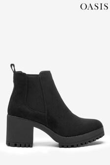 Oasis Black Brittany Platform Boots