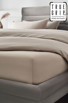 Mink Natural 300 Thread Count Collection Luxe Extra Deep Fitted 100% Cotton Sheet