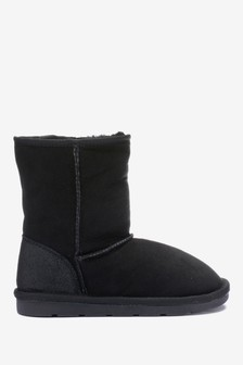 Shearling Pull-On Boots (Older)