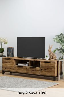 Bronx Oak Effect Superwide TV Stand