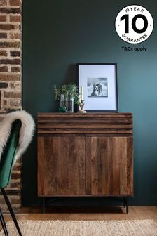 Elmir Mango Wood Small Sideboard with Drawer