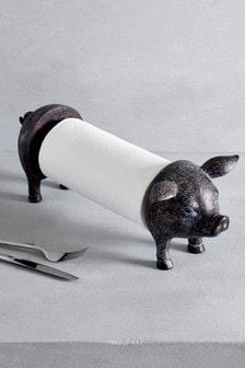 Pig Kitchen Roll Holder