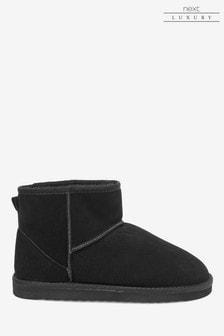 Signature Luxury Suede Boots