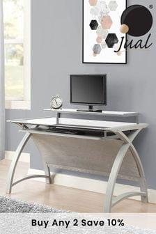 Helsinki 1300 Grey Desk By Jual