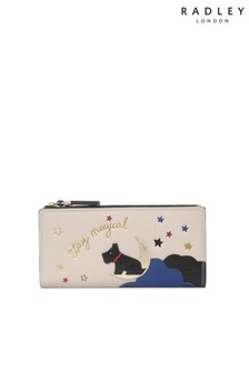 Radley Natural London Stay Magical Large Bifold Matinee Purse