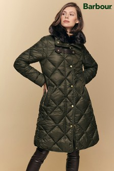 Barbour® ReEngineered Green Ballater Quilted Jacket