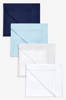 Muslin Squares Four Pack