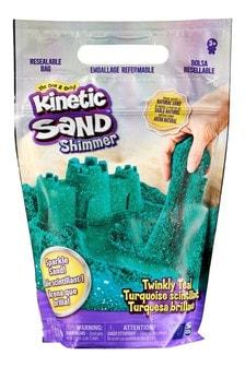 Kinetic Sand 2lb Glitter Bag Teal