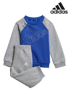 adidas Infant Crew Sweatshirt And Joggers Set