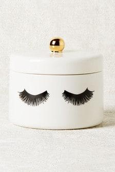 Eyelash Trinket Pot