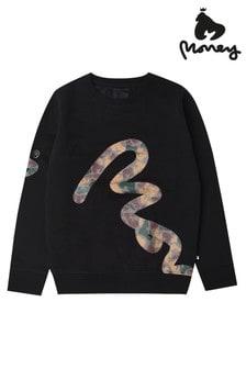Money Big Signature Camo Crew Sweatshirt