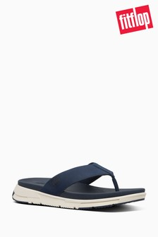 FitFlop™ Blue Sporty Men's Toe Thong Sandals