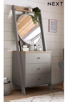 Malvern Standing Dresser With Mirror