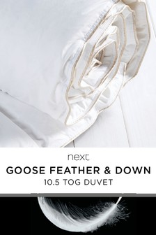 Goose Feather & Down 10.5 Tog Duvet