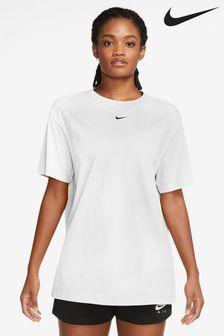 Nike Essential White Boyfriend T-Shirt