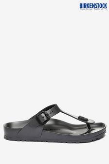 Birkenstock Anthracite Gizeh EVA Sandals