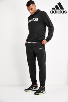 adidas Black Team Sports Tracksuit