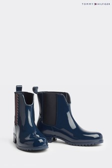 Tommy Hilfiger Monogram Ankle Wellington Boots