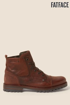 FatFace Brown Abbott Lace-Up Boots