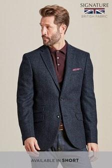 Signature British Wool Slim Fit Blazer