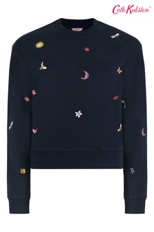 Cath Kidston Magical Ditsy Cropped Sweat Top