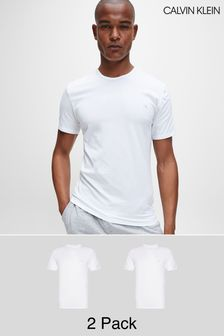 Calvin Klein White T-Shirts Two Pack