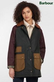 Barbour® ReEngineered Green Luss Wax Jacket