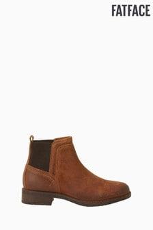 FatFace Brown Calshot Chelsea Boots