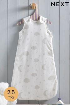 Grey Moon & Stars 2.5 Tog Sleep Bag