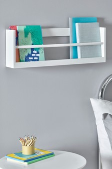 White Nursery Bookshelf