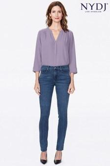 NYDJ Mid Blue Alina Denim Jeans