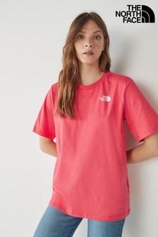 The North Face Purple Simple Dome Boyfriend T-Shirt