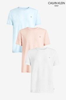 Calvin Klein Golf Tees Three Pack