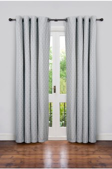 Secret Linen Store Teasels Eyelet Curtains