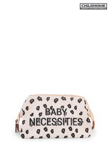 Childhome Baby Necessities Canvas Leopard Bag