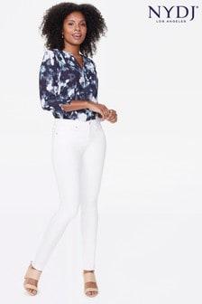 NYDJ Optic White Alina Denim Jeans