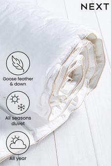 Goose Feather & Down All Season Duvet