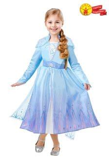 Rubies Disney™ Frozen Deluxe Elsa Travel Fancy Dress Costume